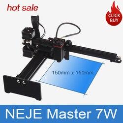 NEJE Master 7W High Speed Mini CNC Laser Engraver For Metal  Engraving Carving Machine Laser Cutting Engraving Machine