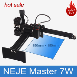 Neje Master 7W Ad Alta Velocità Mini Cnc Incisore Laser per Incisione in Metallo Intagliare Laser Macchina di Taglio Laser Macchina per Incidere