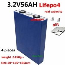 4 шт. Lifepo4 3,2 v 60Ah 56Ah 70Ah 75Ah литиевые элементы 3C разряда для diy 24v 12v 48v батарея резервного питания