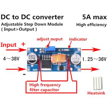 Gorący nowy Step-up stały moduł zasilania LED moduł Boost 4-38V DC-DC konwerter zasilania moduł Boost-40 ~ + 85 stopni tanie i dobre opinie HUXUAN Other NONE CN (pochodzenie)