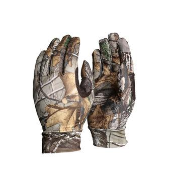 Antypoślizgowe wędkarskie rękawice strzeleckie polowanie elastyczny zewnętrzny ekran dotykowy kamuflaż bioniczny pełne rękawiczki Reed rękawice kamuflażowe tanie i dobre opinie Pasuje prawda na wymiar weź swój normalny rozmiar Polyester camouflage gloves Hunting Camo Gloves Hunting Shooting Fishing Riding