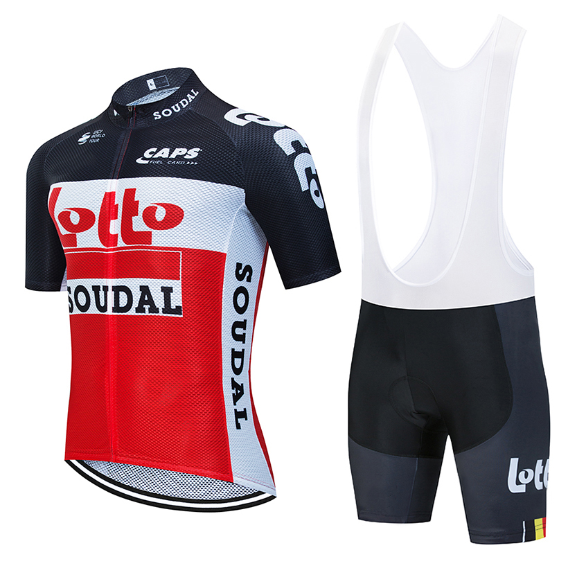 2020 LOTTO cycling team jersey 20D <font><b>bike</b></font> shorts set Ropa Ciclismo MENS New MTB Pro summer BICYCLING Maillot bottom <font><b>wear</b></font> clothing image