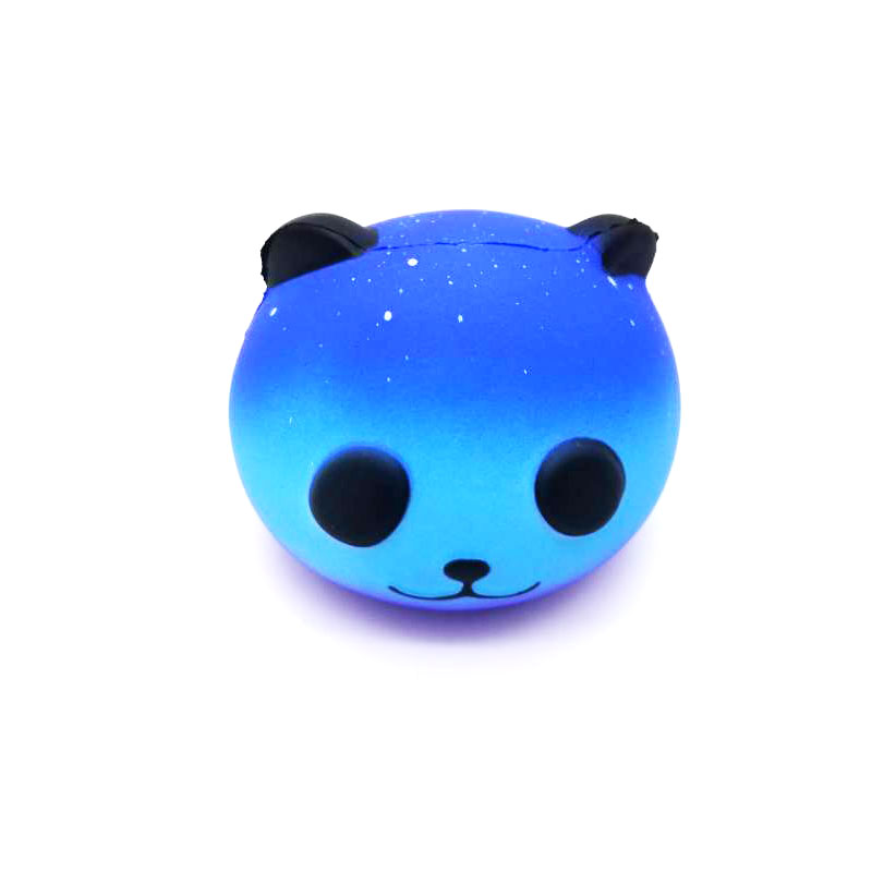 1Pc Slow Rising Stress Relief Squeeze Toys Jumbo Scented Squishy Galaxy Bear Super Slow Rising Stress Relief Squeeze Toys 8cm