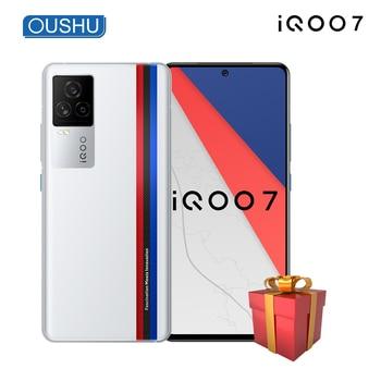 "Newest Original iQOO 7 5G Mobilephone Snapdragon 888 120W Dash Charging 6.62"" AMOLED 120Hz Refresh Rate NFC Celular Telephone"