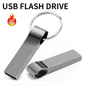 Key USB Flash drive 128gb 64gb 32gb 16gb 8gb Memory USB Disk 128 64 32 16 8 GB Mini Metal Cle Pen Drive Pendrive usb Stick