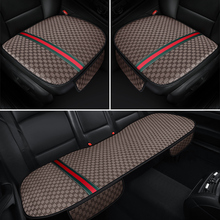 KKYSYELVA 4 color Car Seat Cover Pad for most cars Universal Front Back Auto Seat Covers Black Automobiles Seat Cushion
