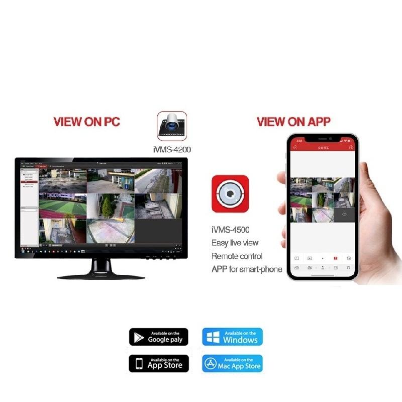 HIKVISION 4 CH CCTV System DS-7604NI-K1/4P with4POE Port 4K netzwerk NVR unterstützt 5MP/8MP kamera