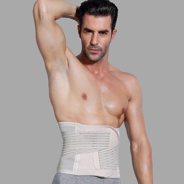 New Men Slimming  Corset Belt Shapewear Sweat Body Shaper Mens faja hombre Waist Trainer Fat Burning Premium Waist Trimmer Belt 2