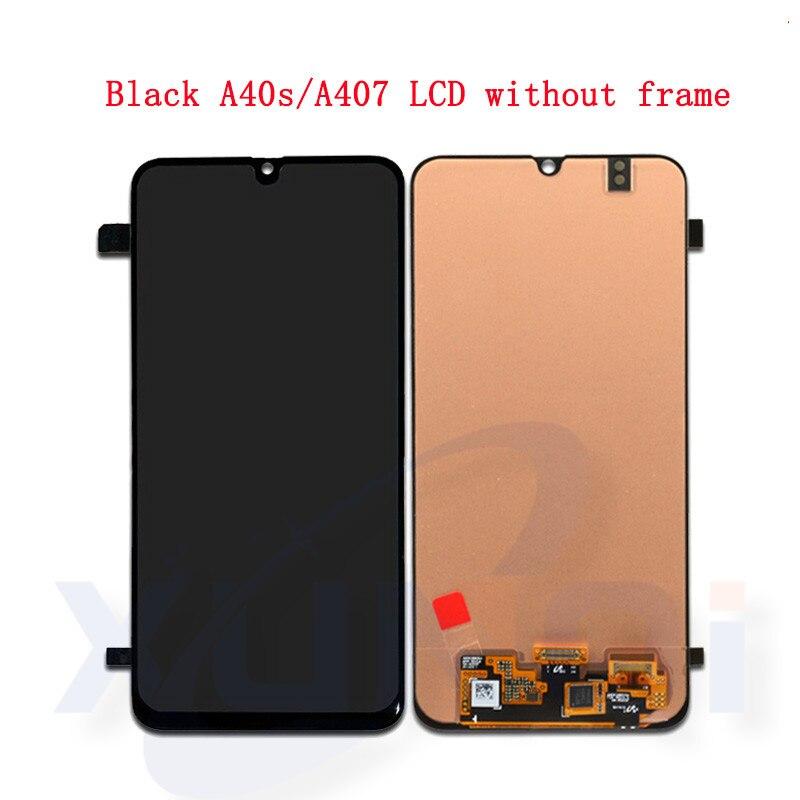 Оригинальный ЖК дисплей для samsung Galaxy A40s 2019 A407 A407F, сенсорный ЖК экран, дигитайзер, стекло в сборе, запасные части, бесплатная доставка - 2