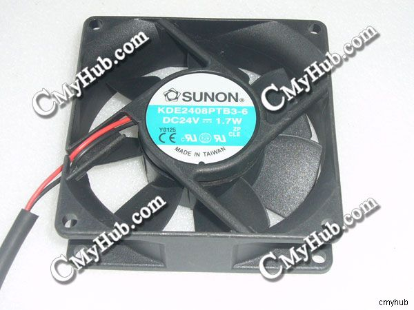 SUNON 8cm PMD1208PTB1-A 12V 5.2W 2 line double ball bearing cooling fan