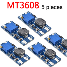 5PCS MT 3608 Power Supply Module DC-DC Step Up Converter Booster For Arduino Boost Boost