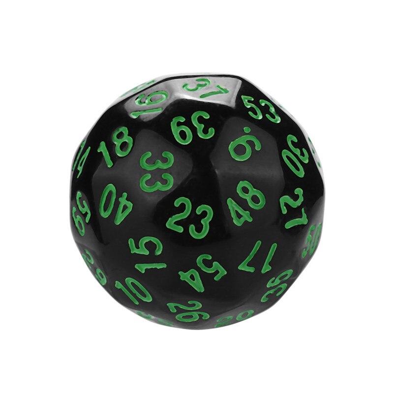 Polyhedron D60 poly dice game dice acrylic dnd dice sets dados poliedricos brand new dados rpg dice tray dice set d60 30A20 (2)