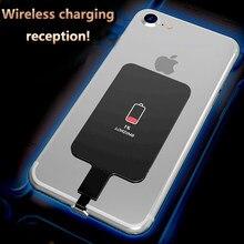 Para o iphone 6 s 6plus 7plus 5 5S 5c sem fio carregador receptor módulo remendo qi padrão sem fio recebendo acessórios de carregamento