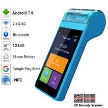 RUGLINE Smart Pos чековый принтер для приложения ресторана, получение заказов и печать чека с Wifi Bluetooth GSM/4G