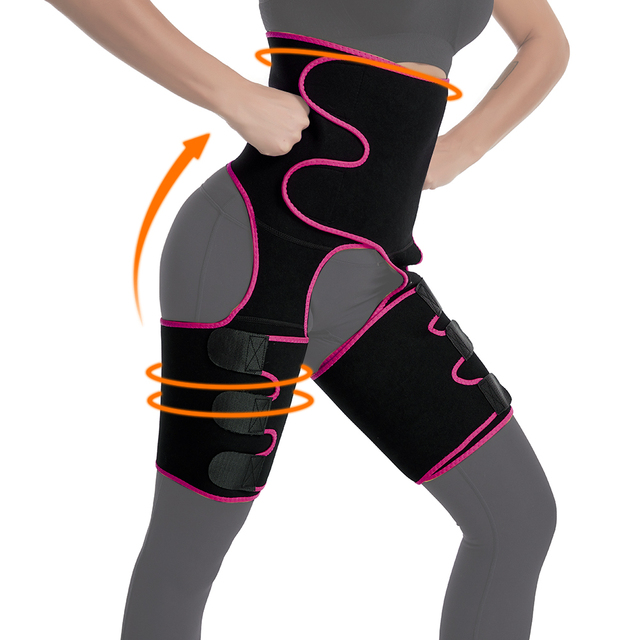 Slim Thigh Trimmer Leg Shaper Waist Trainer Slimming Belt Sweat Shapewear Body shaper Slimming Underwear Waist Shaper Pants 3