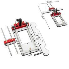 Woodworking Locator Engraving Machine Locator Adjustable Locator Drilling Woodworking Tool Workbench Hand Tool Combination