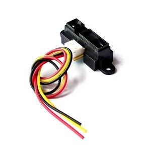 10 шт./лот 2Y0A21 GP2Y0A21YK0F инфракрасный датчик диапазона GP2D12 обнаружение расстояния 10-80 см с линией для Arduino