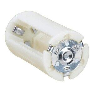 Image 2 - 4Pcs Translucent Aa Naar Maat D Batterij Converter Adapter Case Aa Batterij Case Adapter Converter Houder Switcher Case Box opslag