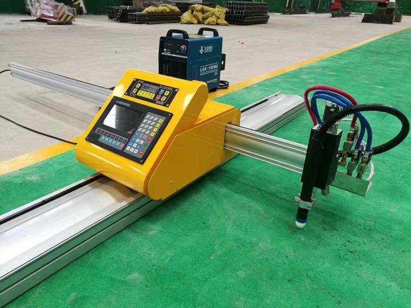 China Tragbare CNC Plasma Schneiden Maschine Metall Schneiden Cutter Maschinen Preis