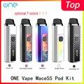 Оригинальная электронная сигарета onevape mace55 pod, встроенная батарея 1500 мА · ч, быстрая зарядка, 3,5 мл, pod vape, комплект, как RPM40