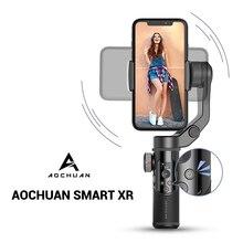 AoChuan Смарт XR/S1 ручной 3 осевой и портативный монопод с шарнирным замком для телефона стабилизатор Bluetooth для IOS Android PK гладкой 4 MOZA MINI MX Hohem Isteady X