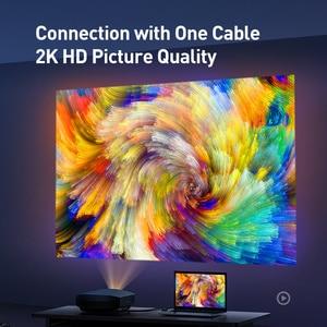 Image 3 - Baseus DVI Cable 2K DVI D Cable Male DVI to Male DVI Cord for HDTV Projector Multimedia 24+1 DVI D Vedio Dual Link Cable Line