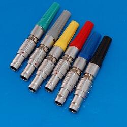 Złącze FGG 00B 0B 1B 2 3 4 5 6 7 8 9 10 14 16 Pin wtyk męski do urządzenie dźwiękowe Zaxcom Denecke Timecode Push pull Self lock w Złącza od Lampy i oświetlenie na
