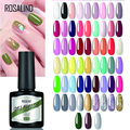 Эмалевый Полупостоянный смешанный Гель-лак ROSALIND, лак для ногтей, разные цвета, для художественного дизайна, для маникюра, базовый Праймер, г...