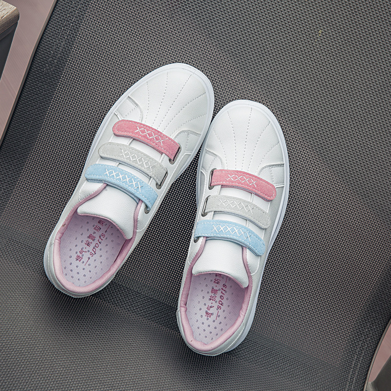 2019 Women Sneakers Fashion Velcro Running Shoes Female Flat Comfortable Shoes Casual Platform Tide Shoes Zapatos Mujer Y12-51