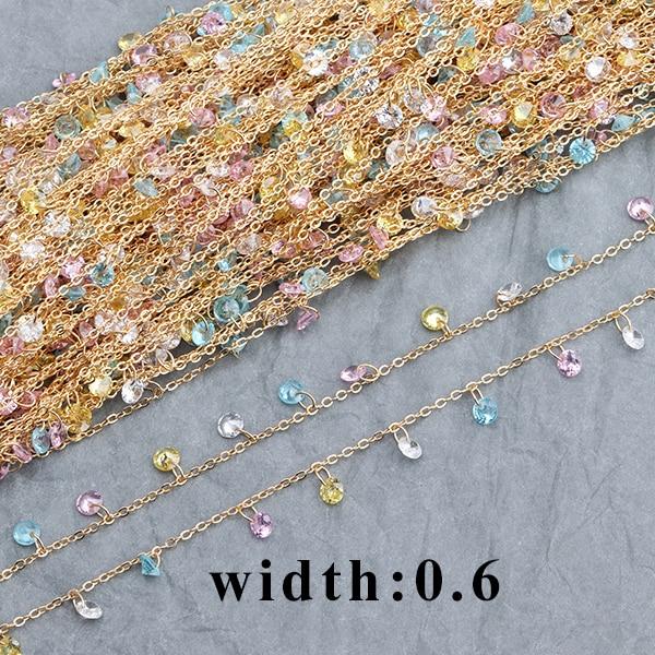 Κοσμήματα Από Αλυσίδα Χαλκού Επιχυσομένη 18Κ, Χάντρες, Φυσική Πέτρα, Χειροποίητες