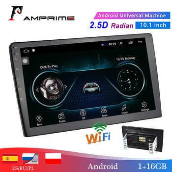 "AMPrime 10.1 ""Auto Multimedia-Player 2 din Android Auto Stereo Radio Bluetooth WIFI Audio Mirrorlink MP5 Player Mit Hinten kamera"