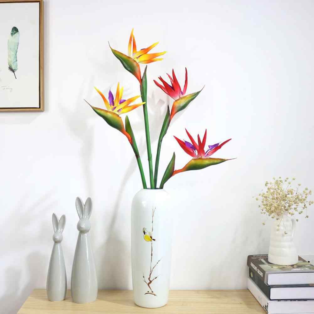 Artificial Flower Bird Of Paradise Fake