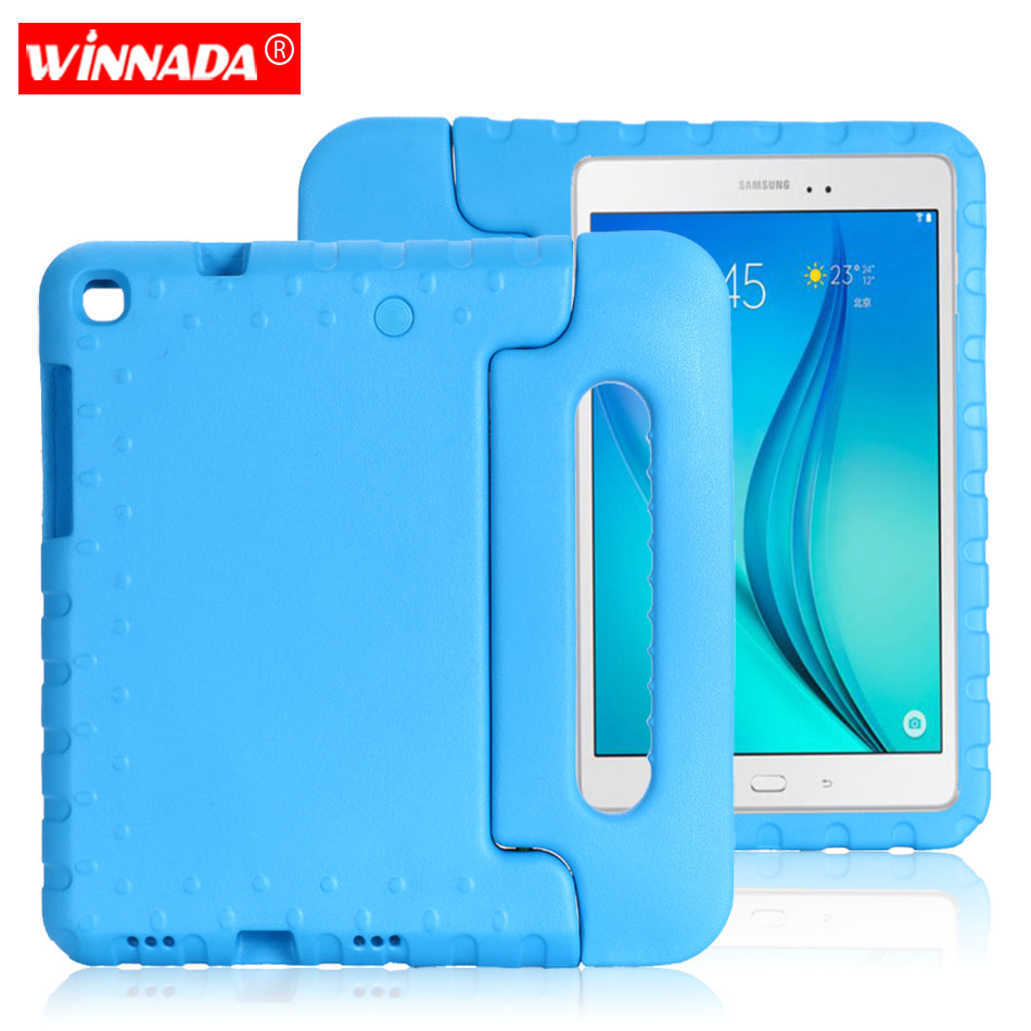 Case For Samsung Galaxy Tab A 8.0 SM-T290 T295 T297 2019 Hand-held Shock Proof EVA Full Body Cover Handle Stand Case For Kids