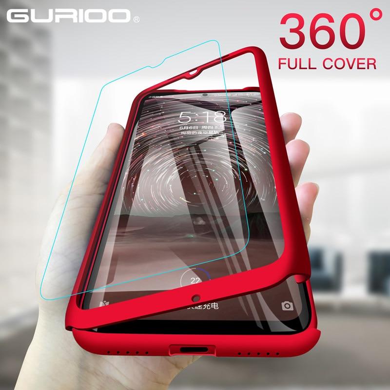 Чехлы с полным покрытием 360 градусов для телефонов Huawei P40 Lite P30 P20 P10 P9 Plus Mate 8 9 10 20 Pro Y5 Y6 Y7 Y9 2019, жесткая задняя крышка из поликарбоната