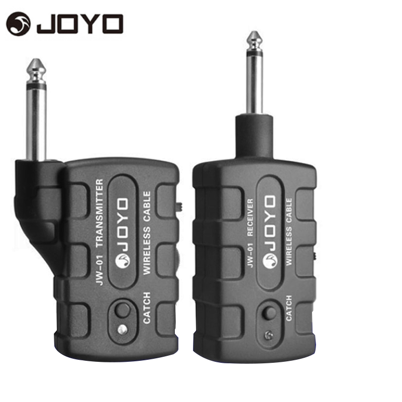 JOYO JW-01 Wireless TRANSMISSION SYSTEM For All Box Musicl Instruments Features 4 Channels Guitar Cable Audio Wireless Link