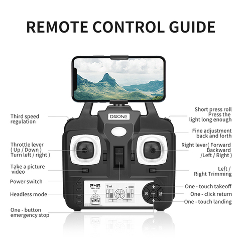2MP Shockproof WIFI Camera Viewing Live Video Helicopter Accessories RC Quadcopter Wide Angle Real Time Lens For SH5HD FPV Drone Karachi