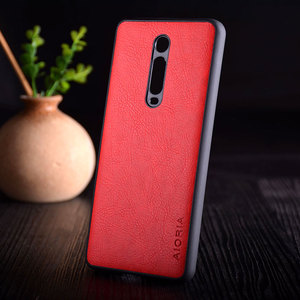 Image 4 - Case for Xiaomi Mi 9t redmi K20 pro funda Luxury Vintage leather litchi skin cover TPU + PC phone case for xiaomi mi 9t mi9t