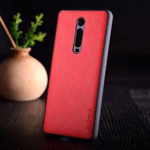 Image 4 - Kılıf Xiaomi Mi 9t redmi K20 pro funda lüks Vintage deri litchi cilt kapak TPU + PC telefon kılıf xiaomi mi 9t mi9t