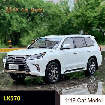 Kyosho Diecast Auto Model Lexus LX570 Simulatie Legering Model Auto Gift Collection Decoratie Auto 1 18 (Kleine Gift)