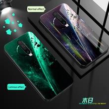 Aurora Luminous Phone Case For Huawei Honor V30 Pro V20 V10 20 10 9 Lite PLAY 3 e Bcak Cover For Honor 9i 10i 20i 9X 8X 7X 8A 8C aurora luminous phone case for huawei honor view v30 v20 v10 night shine bcak cover for honor v30 dazzle colour glass case coque
