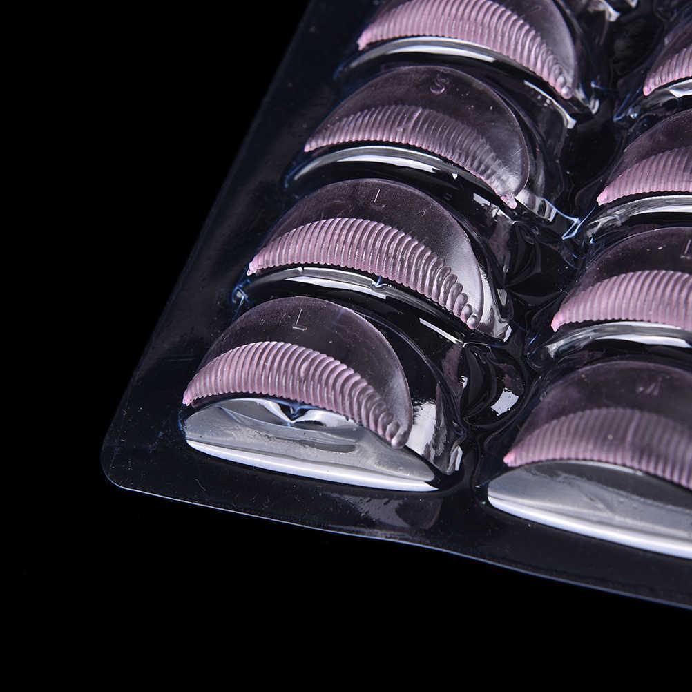 5 accoppiamenti del silicone durevole ciglia permanente Bigodino di Perm di Curling Radice di Sollevamento Falso Falso Del Ciglio Shield Pad maquillaje patch