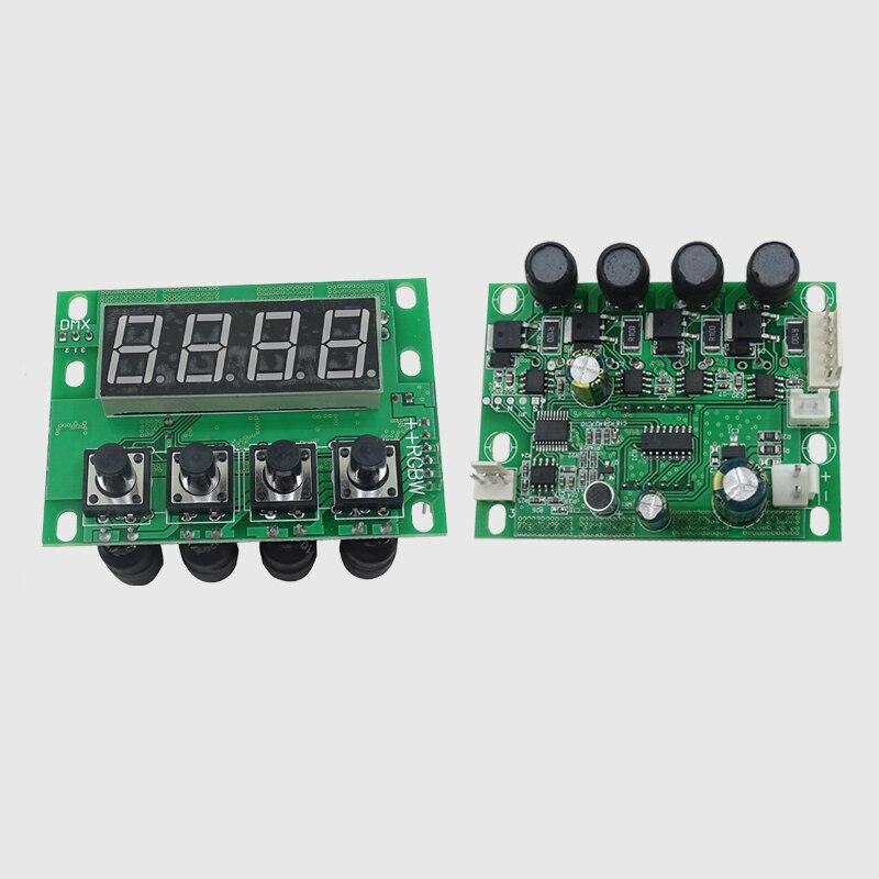 54x3 Вт 18x12 Вт 24x12 Вт 12x12 Вт светодисветодиодный PAR материнская плата напряжение 12-36 в RGBW 4 в 1 RGBWA UV 5 в 1/6 в 1 постоянный ток 4/8 каналов