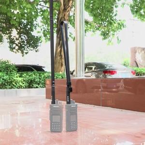 Image 5 - Retevis HA02 składana antena taktyczna SMA F Airsoft gra antena walkie talkie dla Baofeng UV 5R UV 82 Ailunce HD1 RT29 H777