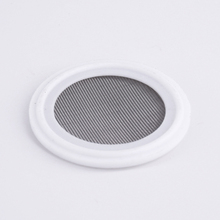 Ferrule OD 64mm 150 Mesh Fit 2 Tri Clamp PTFE Gasket  Washer Seal Strip 304 Stainless Sanitary Screen Home Brew Wine Food Grade