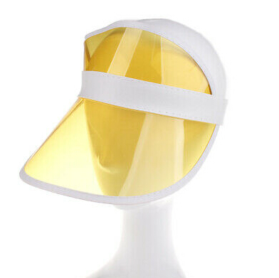 1 шт. летняя повседневная мужская и женская неоновая шляпа солнцезащитный КОЗЫРЕК ГОЛЬФ Спортивная теннисная Кепка Солнцезащитная шапочка, Кепка - Цвет: Цвет: желтый