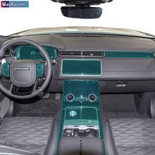 Self Healing Car Interior Central Dashboard Gear Screen Transparent Protective Film For Range Rover Velar L560 2018 2019 2020