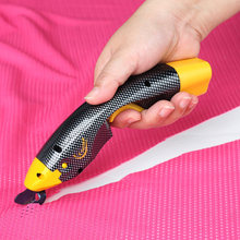 Электрические ножницы для резки швейный инструмент рукоделия