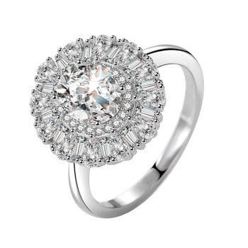 S925 srebro okrągły diamentowy pierścionek dla kobiet Anillos De Bizuteria srebro 925 biżuteria naturalny kamień szlachetny Bijoux Femme pudełko na pierścionek tanie i dobre opinie HOYON SILVER 925 sterling CN (pochodzenie) Kobiety Diamond Okrągły kształt GDTC Invisible ustawienie S925 sliver ring jewelry for women