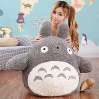 Cartoon Lovely Style Plush Totoro Toys Stuffed Baby Doll Cute Movie Character Children Birthday Gift Toys