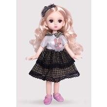 Новый 30 см bjd кукла 4d моделирование ресницы глаза 1/6 макияж